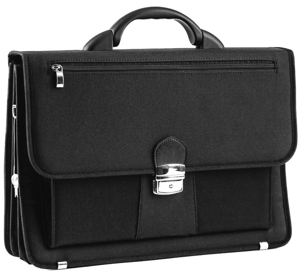 Портфель деловой из кордура Amo Sst05 черный
