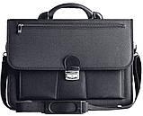 Портфель деловой из кордура Amo Sst05 черный, фото 3