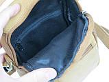 Небольшая кожаная сумка Always Wild LB06СH рыжий, фото 8
