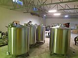Ємність для вина 2000л з люком, фото 4