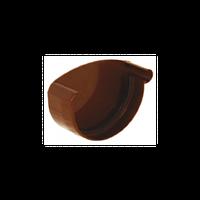 Заглушка жолоба євро права для круглого глибокого, фарбована