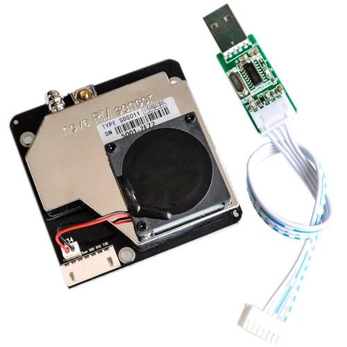 Датчик пыли PM2.5 PM10 качества воздуха Nova SDS011 UART Arduino