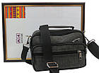 Мужская сумка-барсетка из нейлона Wallaby 2663 хаки, фото 4