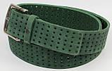 Женский ремень из нубука Vanzetti, Германия, зеленый, 4 см, фото 3