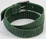 Женский ремень из нубука Vanzetti, Германия, зеленый, 4 см, фото 5