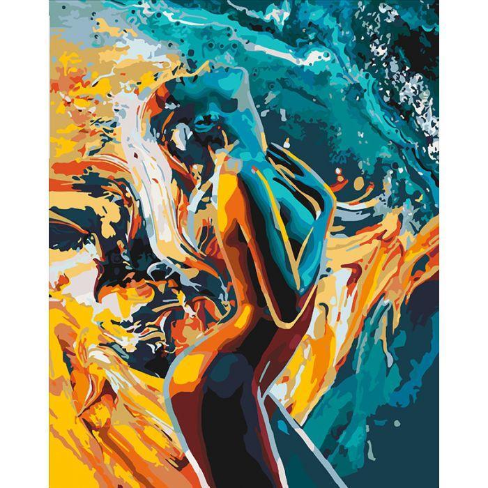 Картина по номерам. «Пристрасть жінки» (КНО4528)