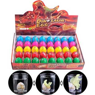Діно інкубатор 40шт 4.5x3.5см растішка яйце динозавра зростаючий динозавр