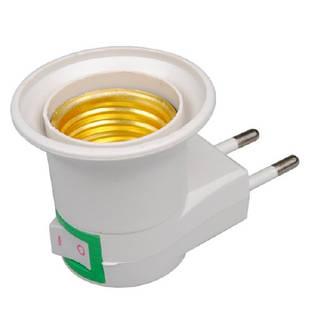 Сетевой адаптер для E27 лампочки, светильник