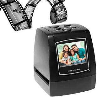 Сканер для фотопленки и слайдов 35мм 135 негативов Слайд-сканерc c ЖК