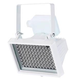 Прожектор інфрачервоний ІЧ для камер 96LED 60м вуличний, білий