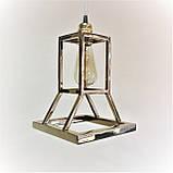 """Дизайнерский подвесной светильник """"Песочные часы"""" под золото, фото 3"""
