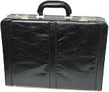 Мужской кейс-дипломат из эко кожи 4U Cavaldi A020425 чёрный, фото 2