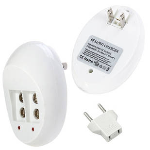 Зарядное устройство для Крона 6F22, автоматическое, 2 канала