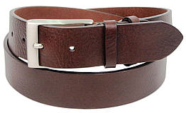 Женский кожаный ремень Farnese, Италия, SFA791 коричневый