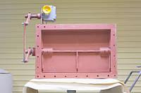 Прямоугольные газоплотные одноосные клапаны ПГВУ 295-80