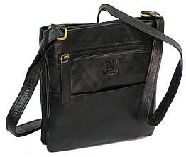 Чоловіча шкіряна сумка Always Wild 108-CBH black, чорна