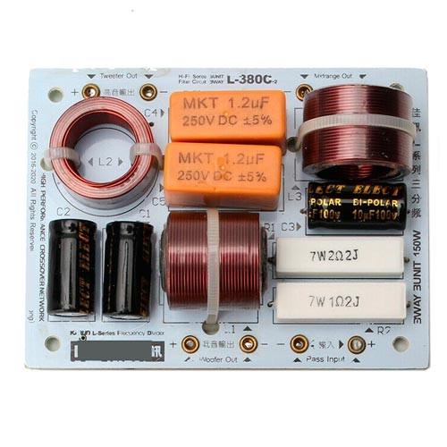 Кроссовер фильтр 3х-полосный пассивный для акустики Hi-Fi 150Вт L-380C