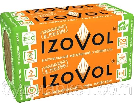 Утеплитель базальтовый Изовол 1000*600*100мм 30 пл (2,4 м2/уп)