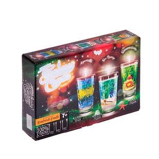 Набор для создания гелевых свечей, 3 свечи, Danko Toys