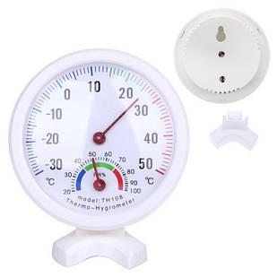 Термометр гигрометр механический на ножке TH108
