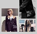 Модная маленькая женская сумка. Сумка клатч женская стильная плетеная модная. Сумочка женская (розовая), фото 3