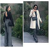 Сумка клатч жіноча стильна плетені модна. Сумочка трендова з плетінням (рожева), фото 5