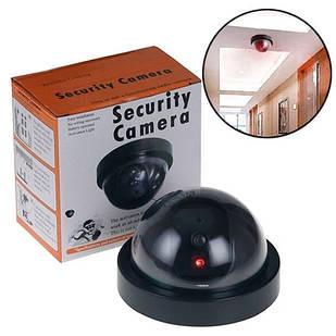 Муляж відеокамери, купольна камера відеоспостереження обманка