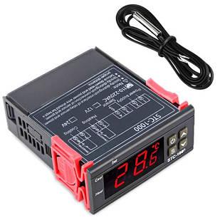 Терморегулятор термостат цифровой 2 реле -50~99С 220В 10А STC-1000