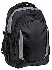 Городской рюкзак PASO 30L, 18-1641BG черный