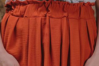 Прекрасной базой для повседневных образов в стиле casual станет эта замечательная юбка р.48,50,52,54 код 3418М, фото 2