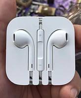 Наушники Apple EarPods оригинал из комплекта iPhone (айфон)