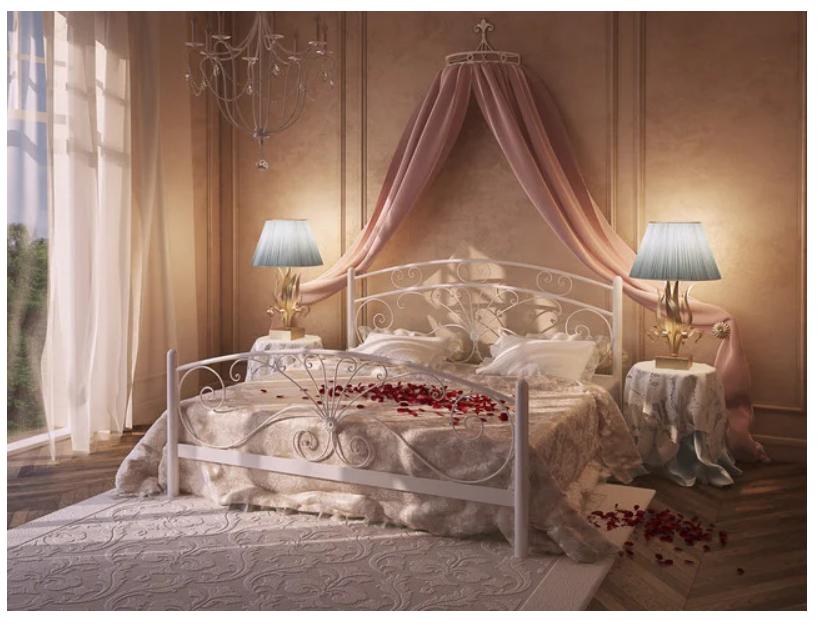 Кровать металлическая - Дармера