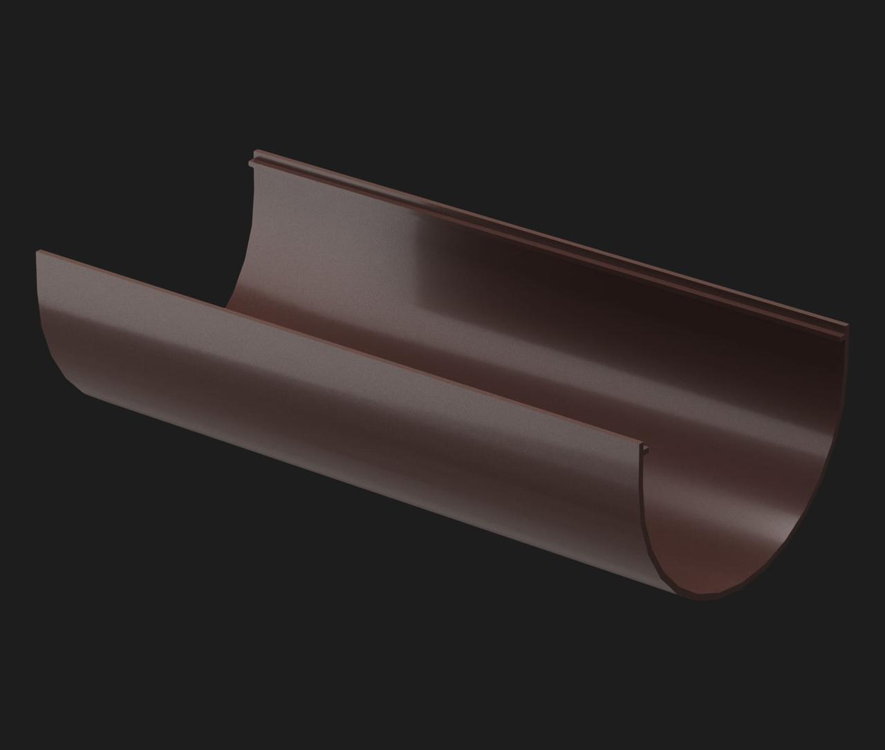 Желоб водосточный Docke Premium Шоколад 120.65 мм длина 3м