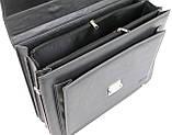 Портфель деловой из эко кожи Verto A13A1 серый, фото 7