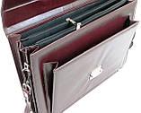 Портфель женский из эко кожи AMO SST11 бордовый, фото 7