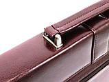 Портфель женский из эко кожи AMO SST11 бордовый, фото 8