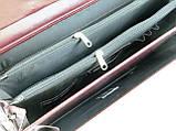 Портфель женский из эко кожи AMO SST11 бордовый, фото 9
