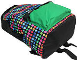 Молодежный рюкзак PASO 12L, 00-220PAN разноцветный, фото 7