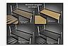 Кровать металлическая - Фуксия, фото 3