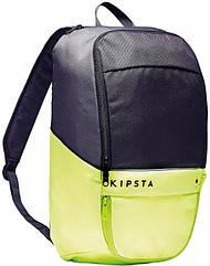 Рюкзак Kipsta Classic 17 л сірий лайм