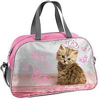 Детская спортивная сумка с котенком 15L, PASO RHV-074