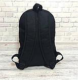 ХИТ!  Молодежный вместительный рюкзак FILA, фила. Черный / F 01, фото 9