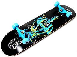 Профессиональный скейт деревянный скейтборд из канадского клена Fish Skateboard Finger до 90 кг Польша