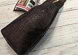 Мужская сумка на одно плечо, слинг Alligator. Коричневая / 2799-1, фото 2