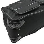 Сумка на колесах ручная кладь 45 л Ormi SS00007 black черная, фото 8