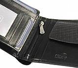 Горизонтальное кожаное мужское портмоне ALWAYS WILD N951PVT black, фото 6
