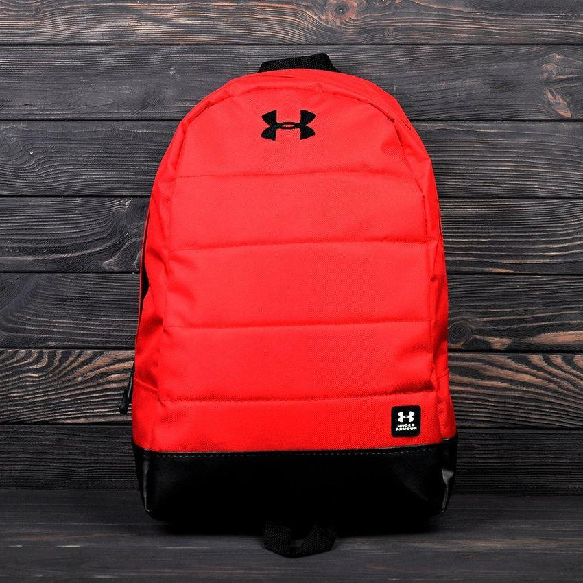 Яркий, стильный рюкзак Under Armour. Отличное качество. Красный с черным
