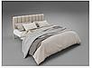 Кровать металлическая - Фуксия, фото 2