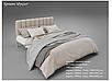 Кровать металлическая - Фуксия, фото 6