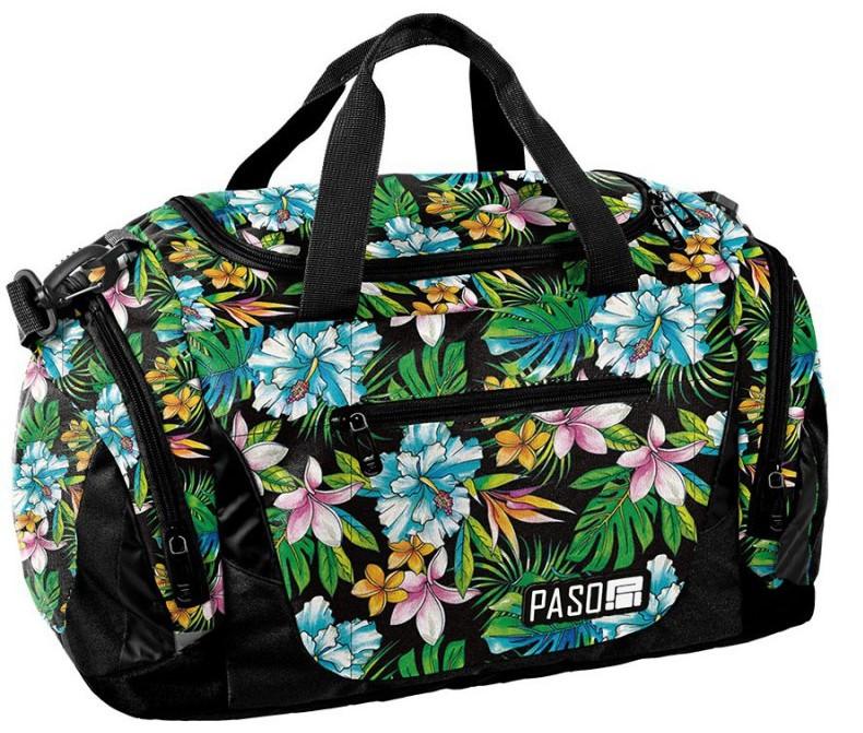 Яркая женская спортивная сумка 27L Paso PPLH19-019